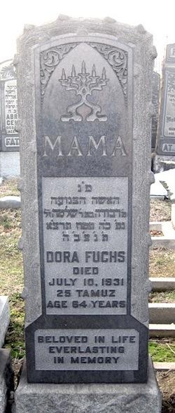 Dora <i>Kupferman</i> Fuchs