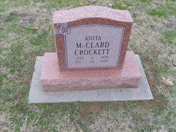 Anita <i>McClard</i> Crockett