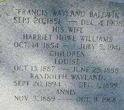 Francis Wayland Baldwin