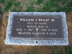 William J Braaf, Sr