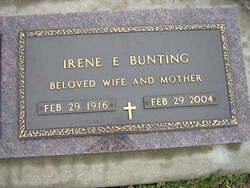 Irene E. Bunting
