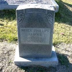 Nellie Elizabeth <i>Phillips</i> Arnold