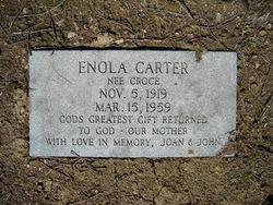 Enola <i>Croce</i> Carter