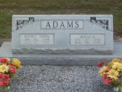 Elvira (Vera) Adams