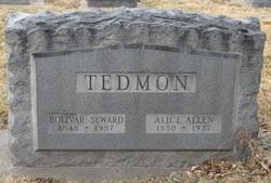 Alice <i>Allen</i> Tedmon
