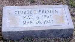 George Fenner Preston