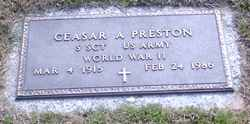 Ceasar Augustus Gus Preston
