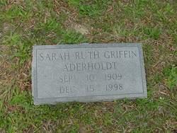 Sarah Ruth <i>Griffin</i> Aderholdt