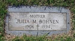Julia Margaret <i>King</i> Bohnen
