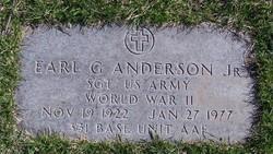 Earl G Anderson, Jr