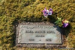 Edel Nickoline Marie <i>Hansen</i> Abel