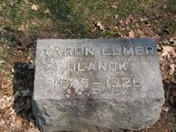 Aaron Elmer Blanck
