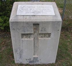 Blackwell Cemetery