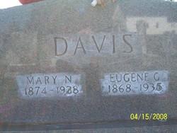 Mary <i>Nicholson</i> Davis
