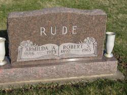 Armilda Ann Milda <i>James</i> Rude