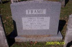 Mary <i>Orr</i> Frame