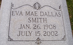 Eva Mae <i>Dallas</i> Smith