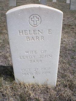 Helen E Barr