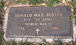 Donald Max Butler