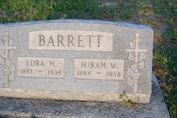 Lora M <i>Malone</i> Barrett