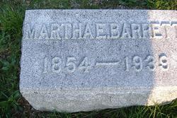Martha Ellen <i>Yager</i> Barrett