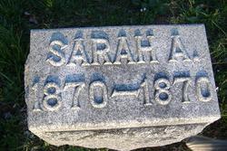 Sarah A Barrett