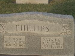 Sarah Elizabeth <i>Flippo</i> Phillips
