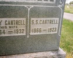 S. S. Cantrell