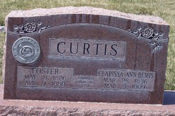Clarissa Ann <i>Bemis</i> Curtis