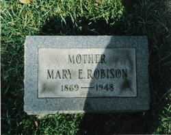 Mary Hutter Mamie <i>Ely</i> Robison
