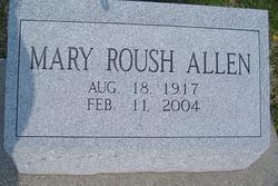 Mary <i>Roush</i> Allen