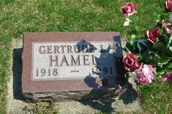 Gertrude Leone <i>Yarian</i> Hamel