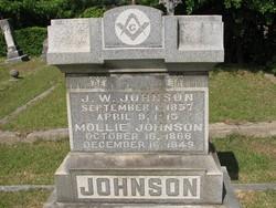 Mollie R. <i>White</i> Johnson