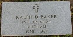 Pvt Ralph D. Baker