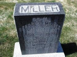 Catherine Rebecca <i>Jeffs</i> Miller