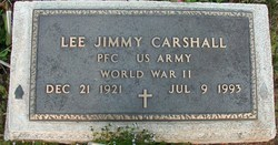 PFC Lee Jimmy Carshall