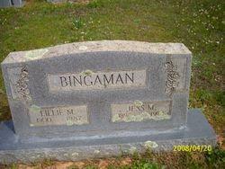 Lillie M Bingaman