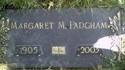 Margaret M. <i>Yerks</i> Padgham