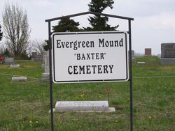 Evergreen Mound Baxter Cemetery