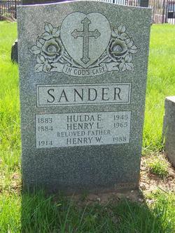Hulda Electa <i>Whitman</i> Ehrler Sander