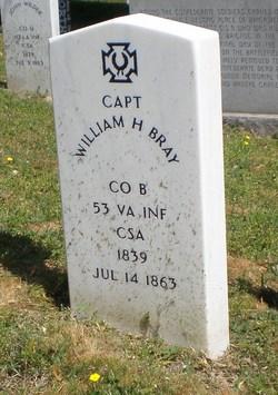 Capt William Harvie Bray