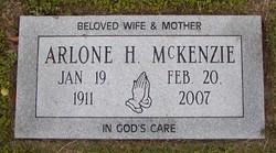 Arlone H <i>Butler</i> McKenzie