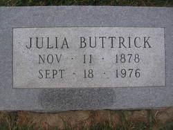 Julia Elizabeth <i>Conner</i> Buttrick