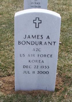 James A Bondurant