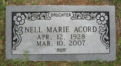 Nell Marie Acord