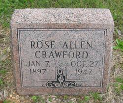 Rose <i>Crawford</i> Allen