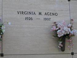 Virginia M Ageno