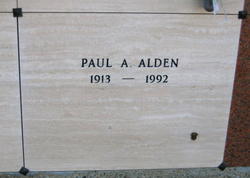 Paul A Alden