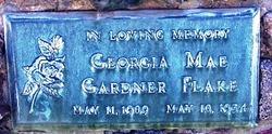 Georgia Mae <i>Gardner</i> Flake