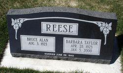 Barbara <i>Taylor</i> Reese